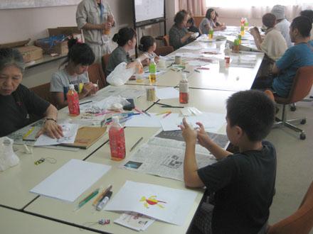 第七回彫刻体験教室