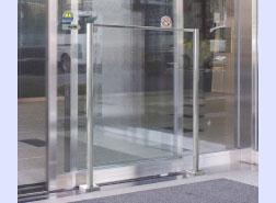 自動ドア用防護柵<STガードII>